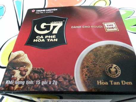 G7 vietnamese coffee